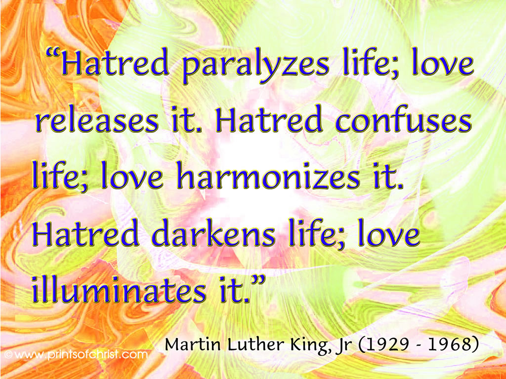 King Hatred paralyses
