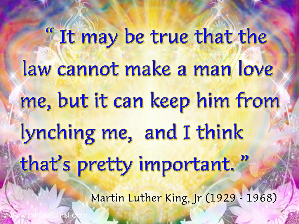 Words of Martin Luther King Background