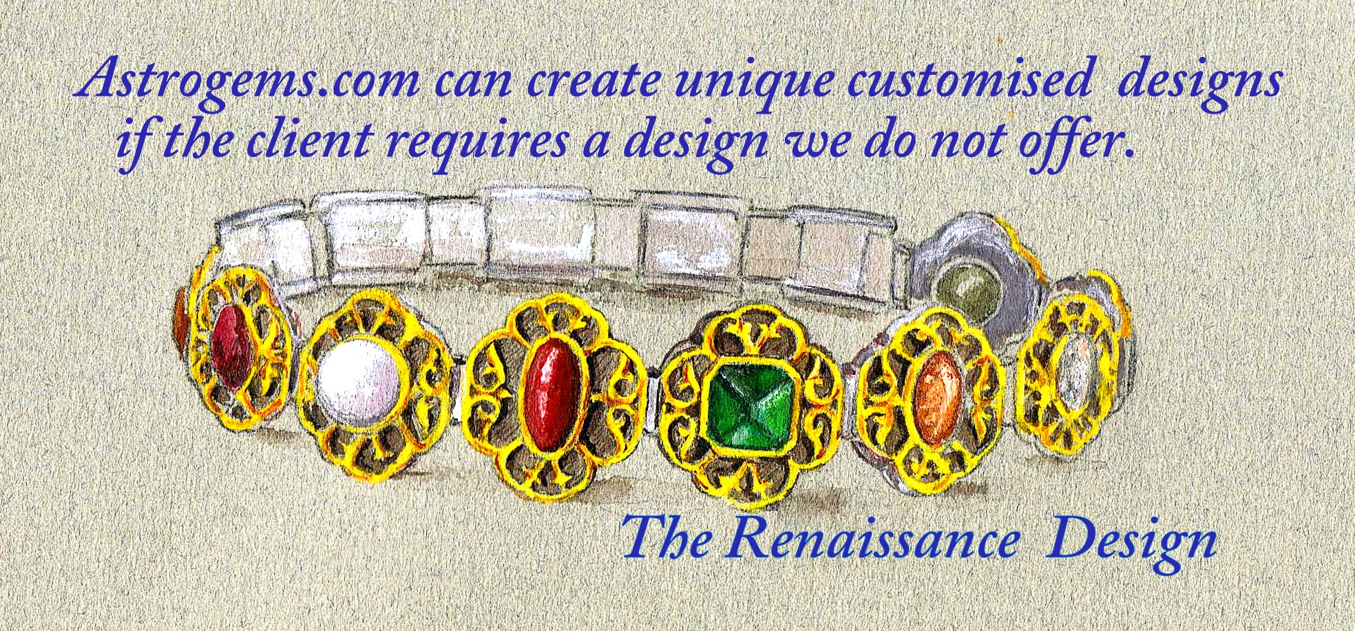 custom vedic astrological bangles and bracelets by Astrogems.com
