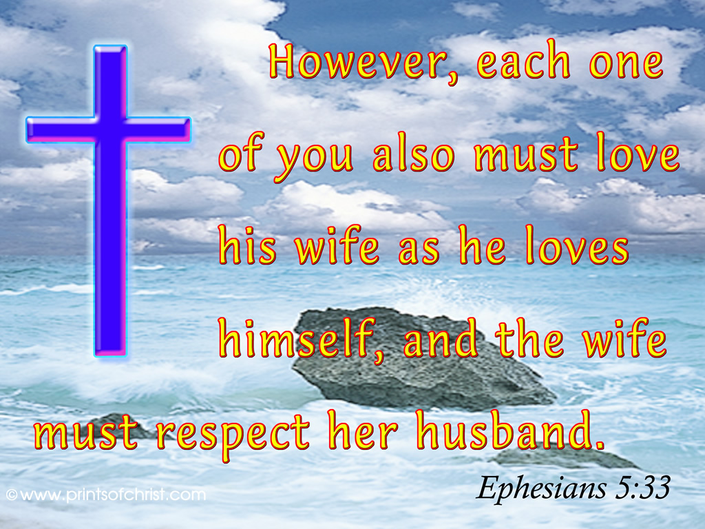 Ephesians 5:33 Wallpaper