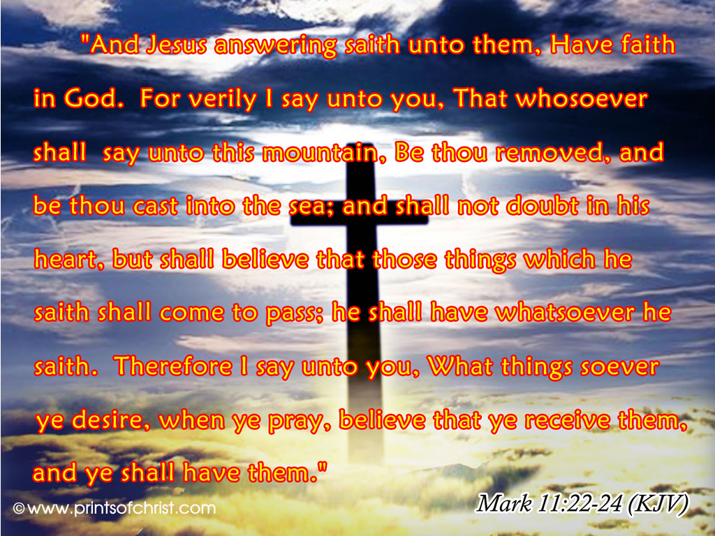 Mark Bible Verses Wallpaper