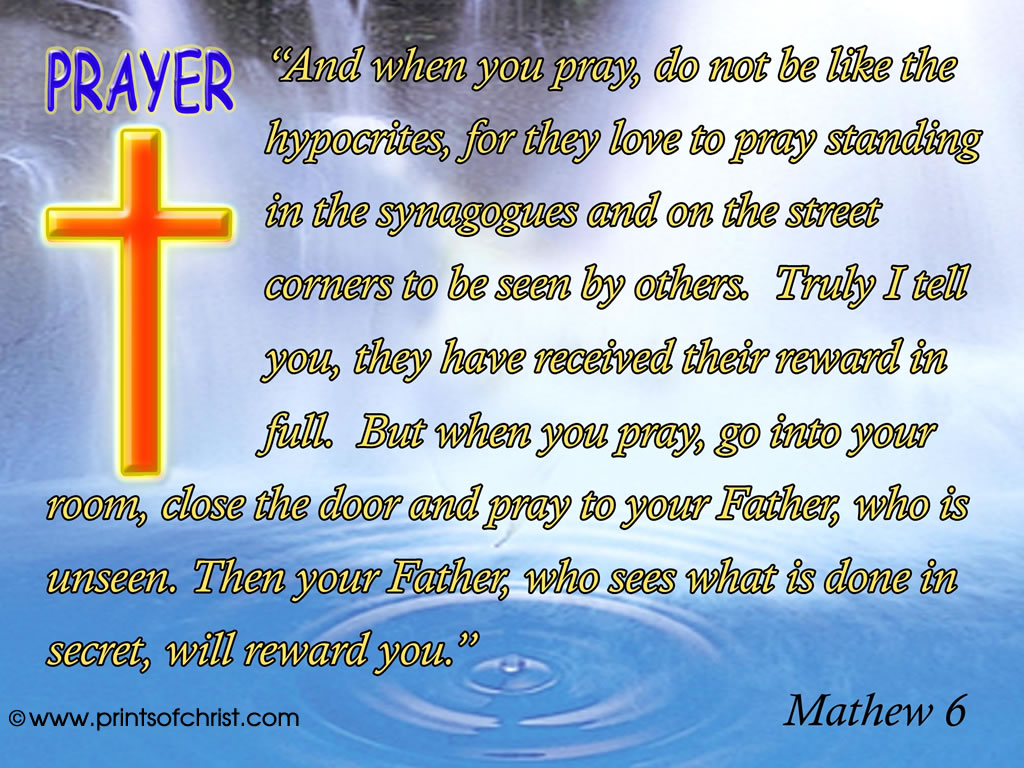 Prayer Mathew 6 image