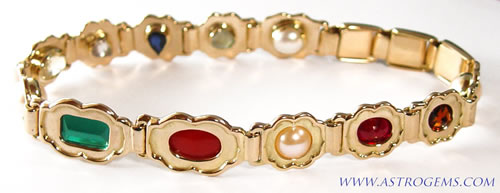 gold navaratna bangle