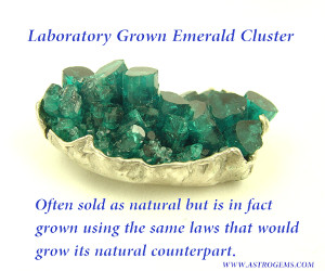 Astrological Emerald Laboratory Grown