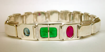 starter crystal healing bangle