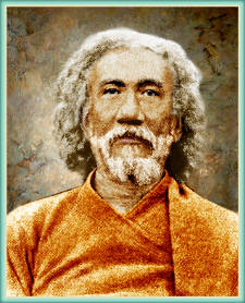 photograph of Swami Sri Yukteswar, guru of Paramahansa Yogananda and author of The Holy Science