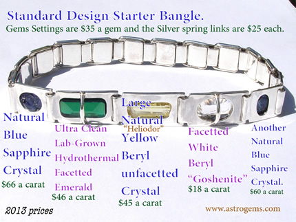 standard starter bangle design picture