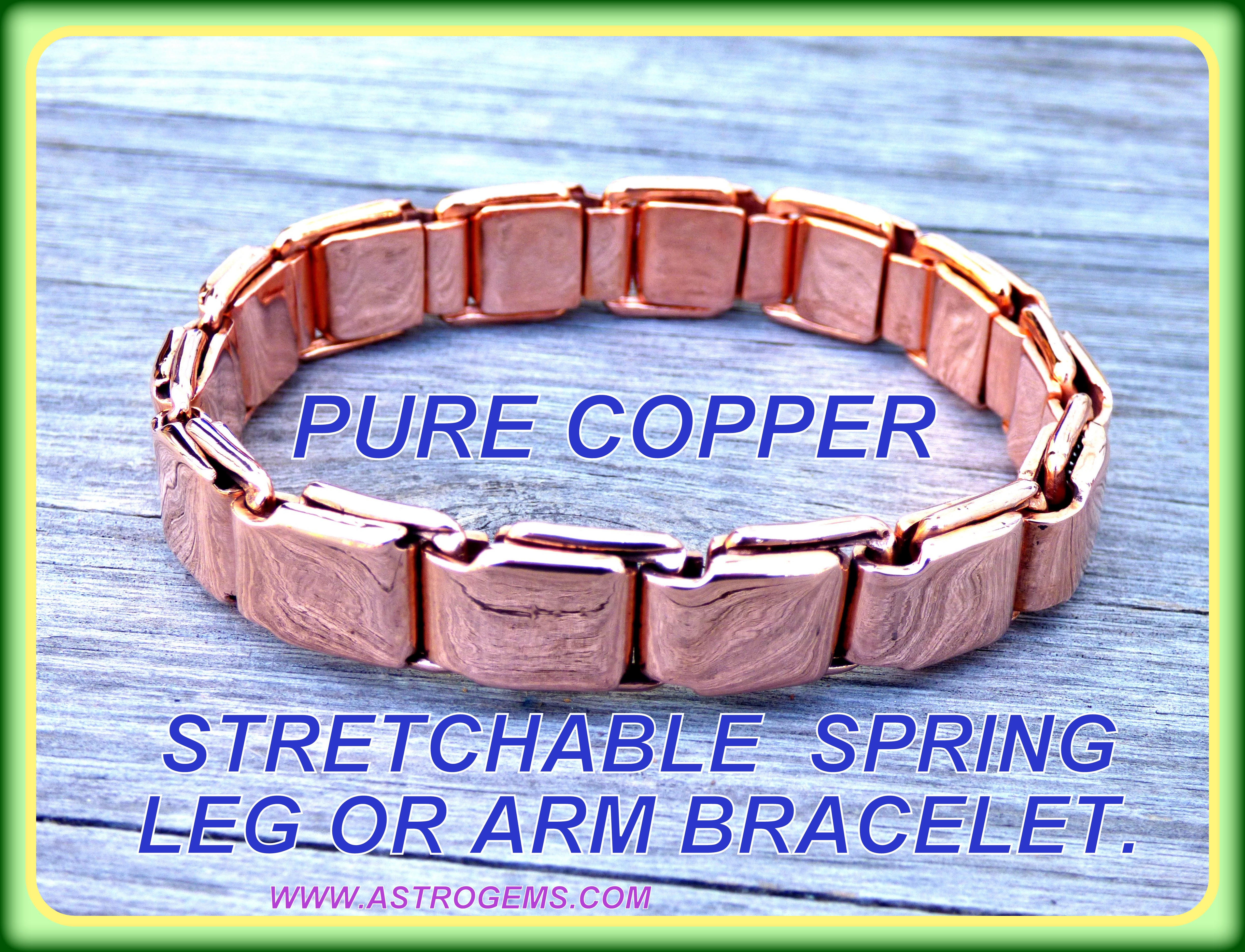 copper spring bangle