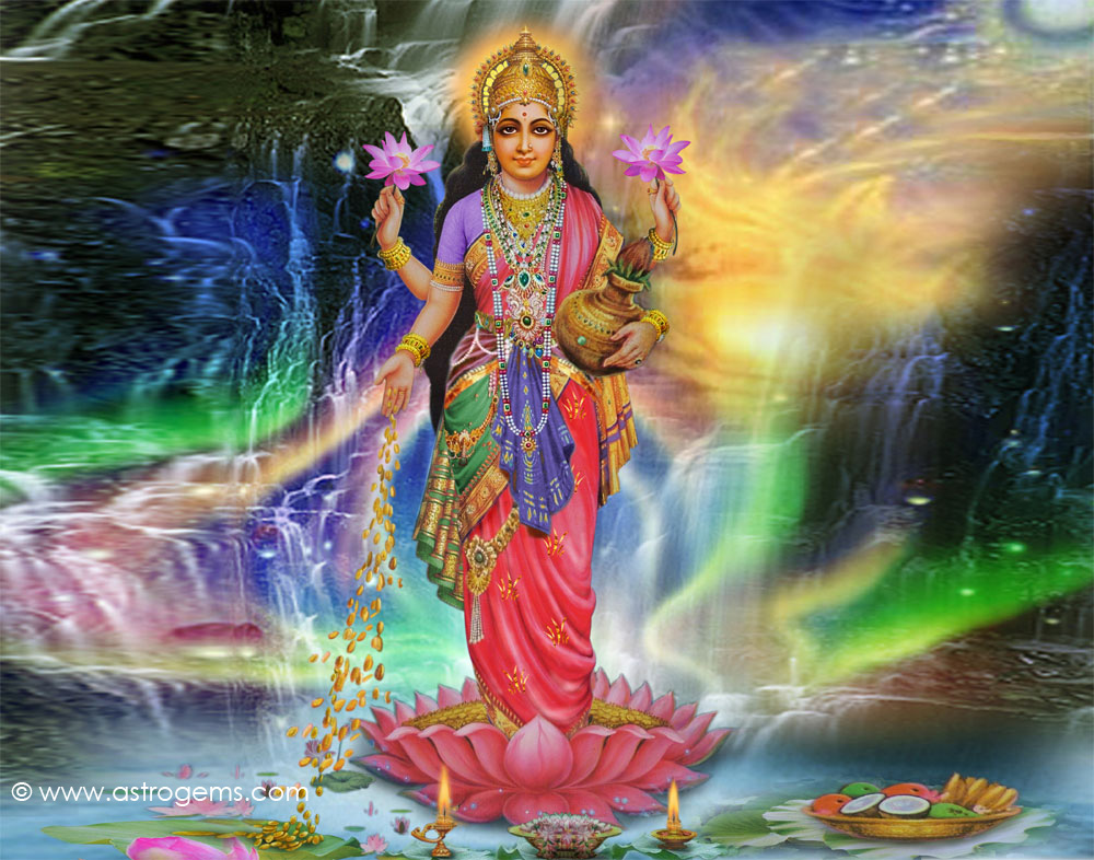 To 40 Free Lakshmi Wallpapers