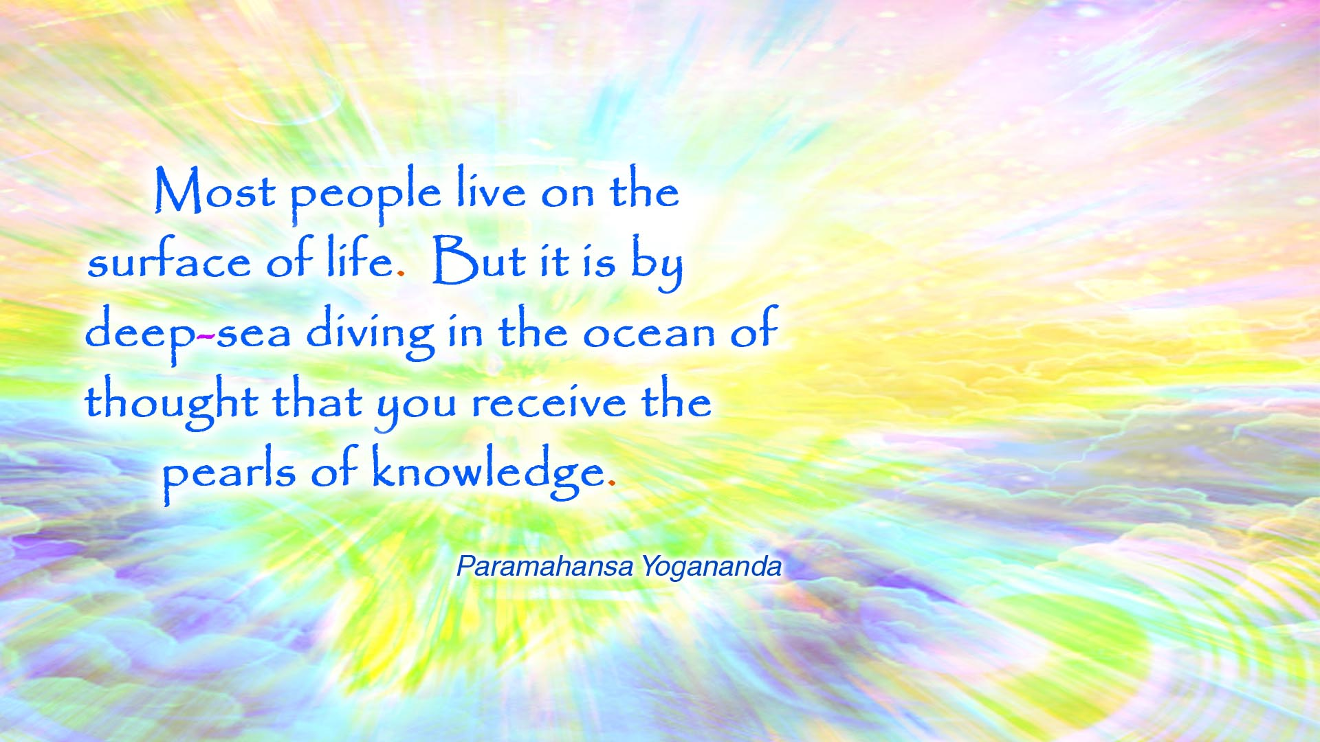 Yogananda pearls of knowledge wallpaper