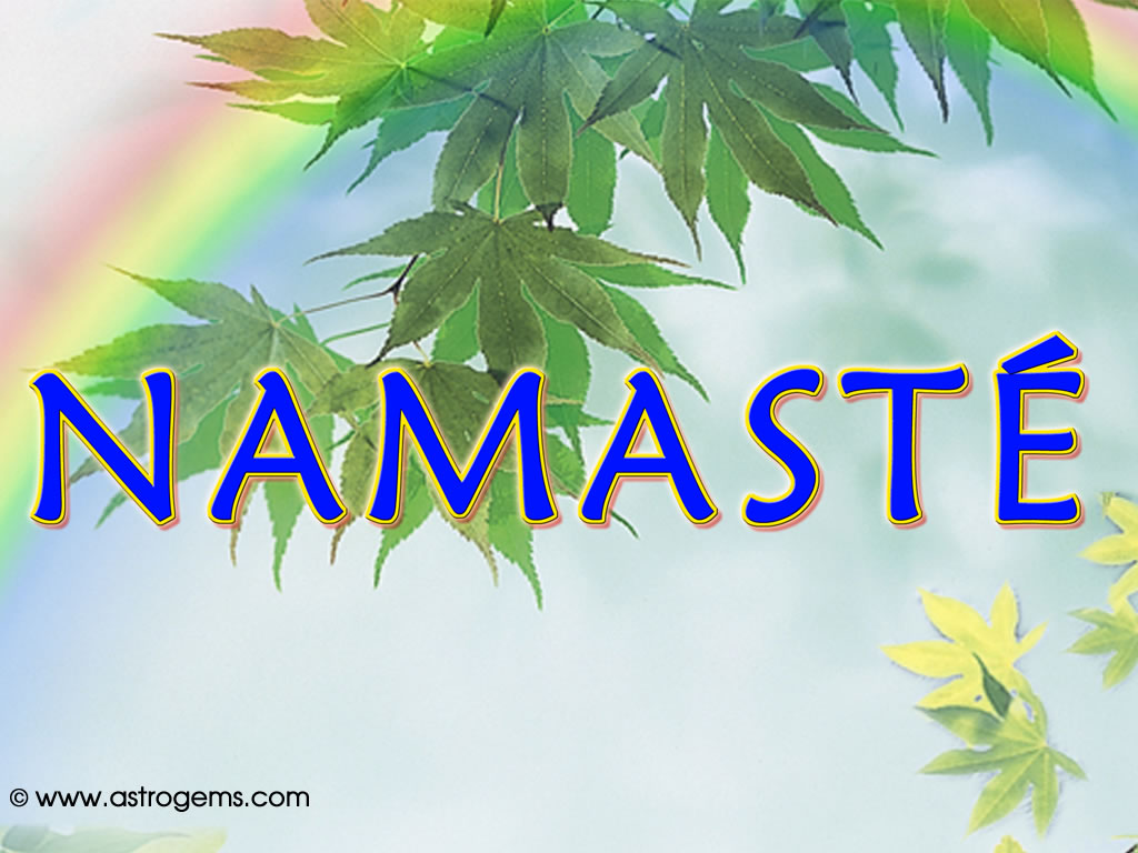 Picture of Namaste
