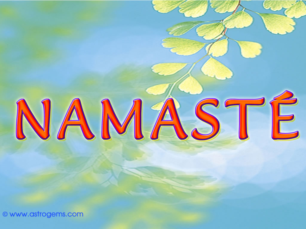 Namaste Background