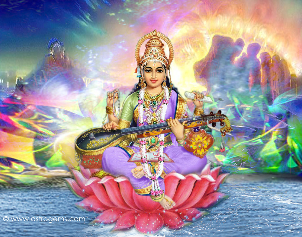 To 25 Free Saraswati Wallpapesrs